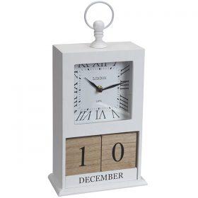 שעון עץ + קלנדר
