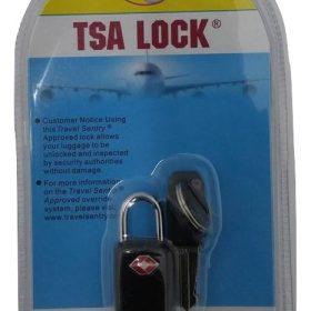 מנעול TSA מפתח