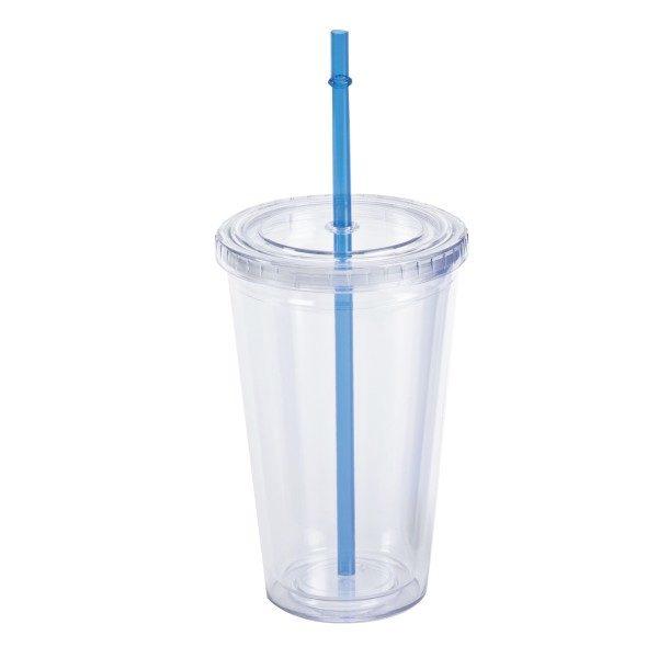 כוס עם קש