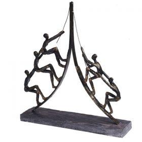 פסל לשולחן עבודת צוות