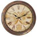 שעון מפת עולם