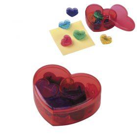 קופסא מעוצבת בצורת לב