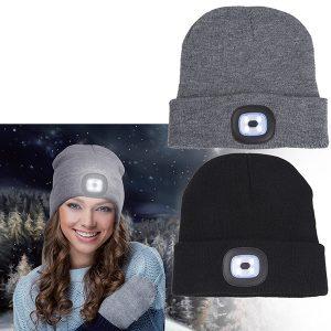 כובע עם אורות