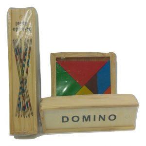 3 משחקים מעץ
