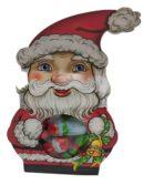 סנטה עם שוקולדים